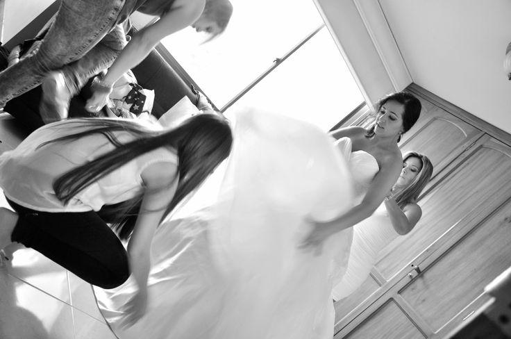 la previa al matrimonio... fotografia Felipe Alvarez..