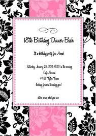46 best 18th birthday party images on pinterest 18th birthday free birthday party invitation templates google search stopboris Gallery
