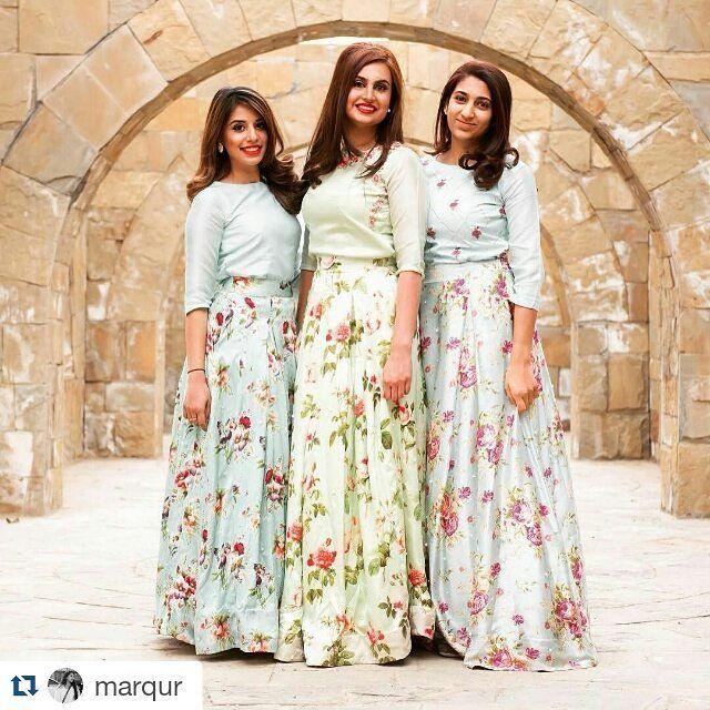 Girls Looking Gorgeous wearing Threads & Motifs