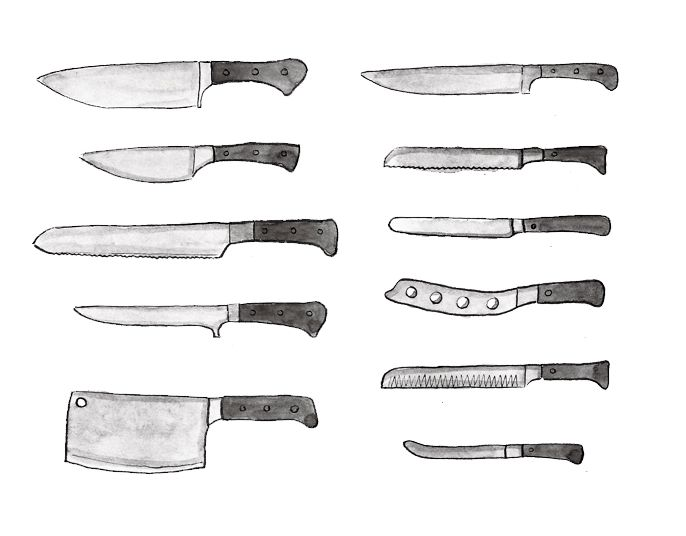 1000 Images About Kitchen Knives On Pinterest Different