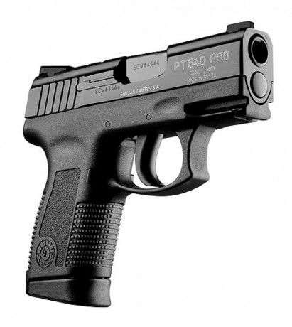 Pistola Taurus 640 PRO - Pistolas - Taurus Armas Loading that magazine is a pain! Get your Magazine speedloader today! http://www.amazon.com/shops/raeind