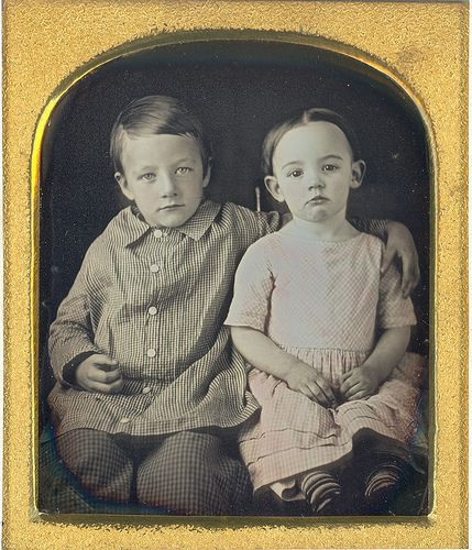 Charlie and Abby White, 1846