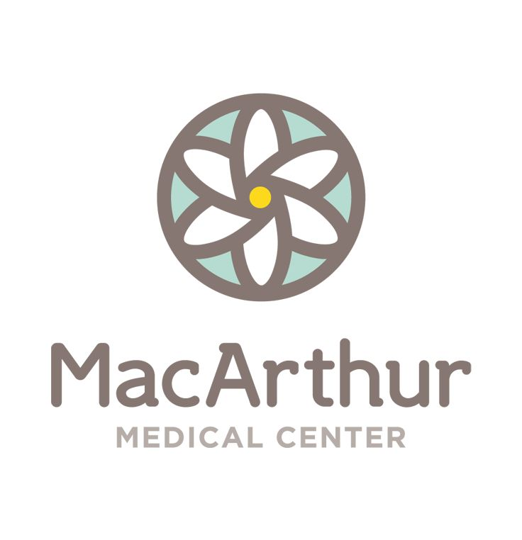 MacArthur Medical Center Logo by Marstudio © www.marstudio.com - Medical Logo - Healthcare Logo