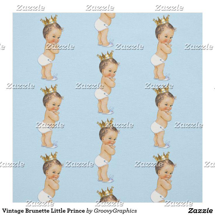Vintage Brunette Little Prince Fabric