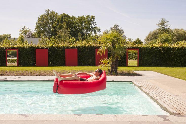 25 beste idee n over tuin spiegels op pinterest buiten for Polyester zwembad goedkoop