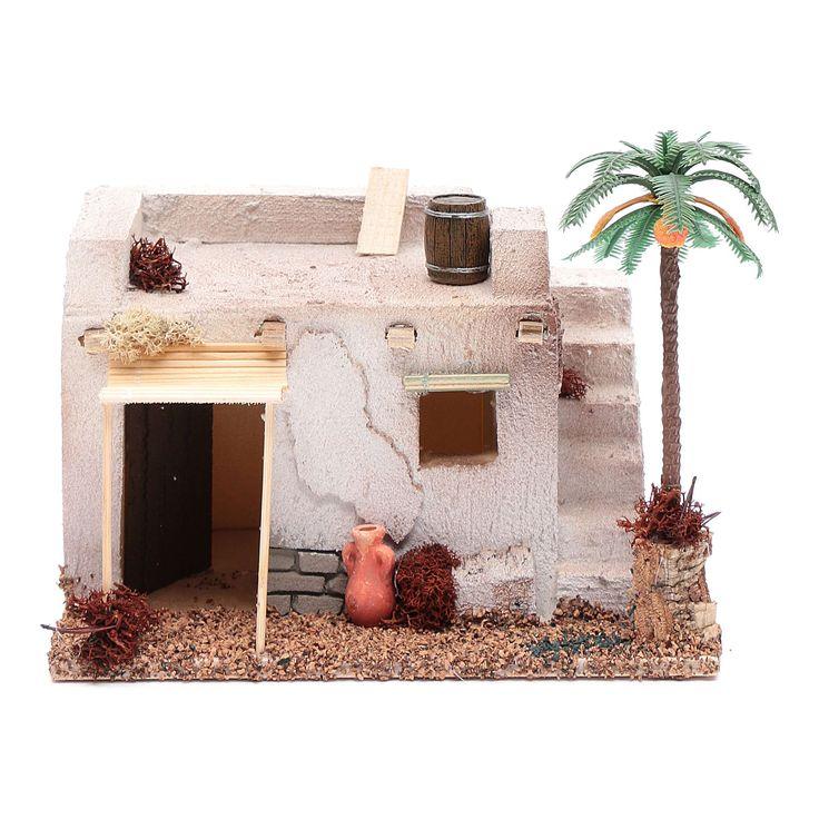 Casa Araba con palma e tenda da sole in polistirene