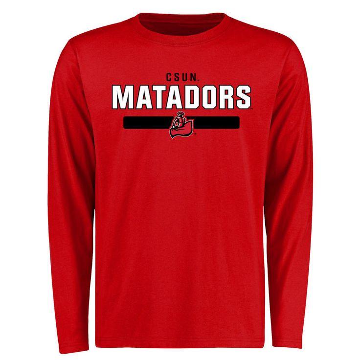 Cal State Northridge Matadors Team Strong Long Sleeve T-Shirt - Red