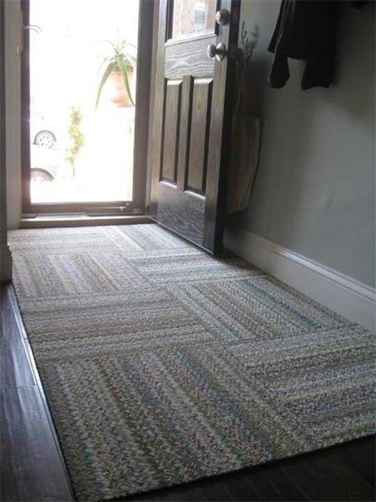 Temporary But Effective: 5 Ideas For Hiding Or Minimizing An Ugly Floor. Rug  IdeasTile ...
