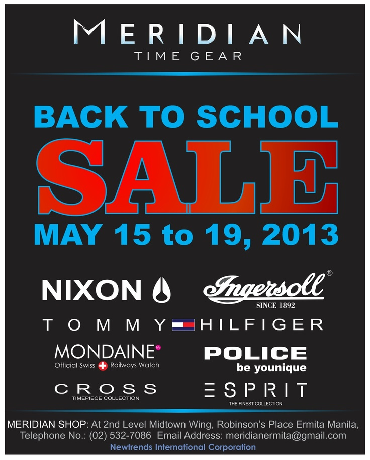 Where on SALE - May 15 to 19, 2013