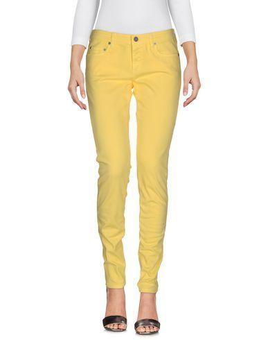 Prezzi e Sconti: #M.grifoni denim pantaloni jeans donna Giallo  ad Euro 65.00 in #M grifoni denim #Donna jeans pantaloni jeans
