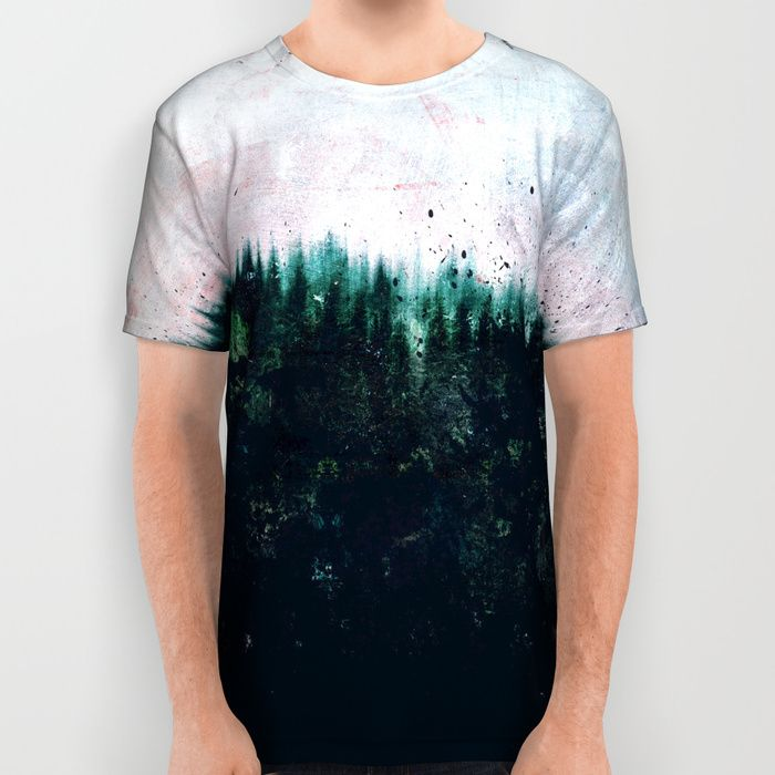 Deep dark forests All Over Print Shirt by HappyMelvin | Society6