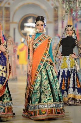Ali Xeeshan - Pantene Bridal Couture Week PBCW 2013 - Pakistani Bridal Fashion