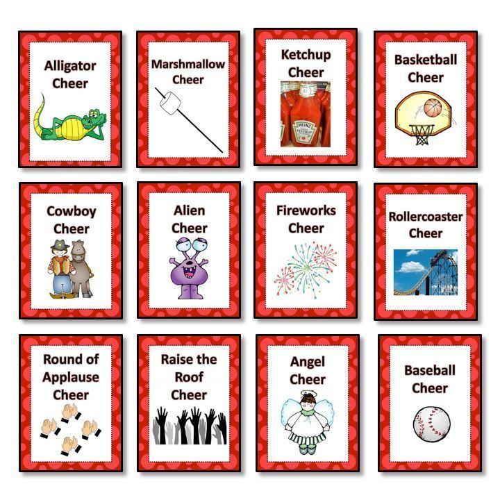 Celebrate big and small successes with classroom cheers! Twelve ready to print posters come with instructions for each cheer. Made by Lindseyland.
