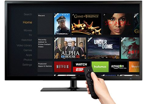 Amazon Fire TV - Home on Behance