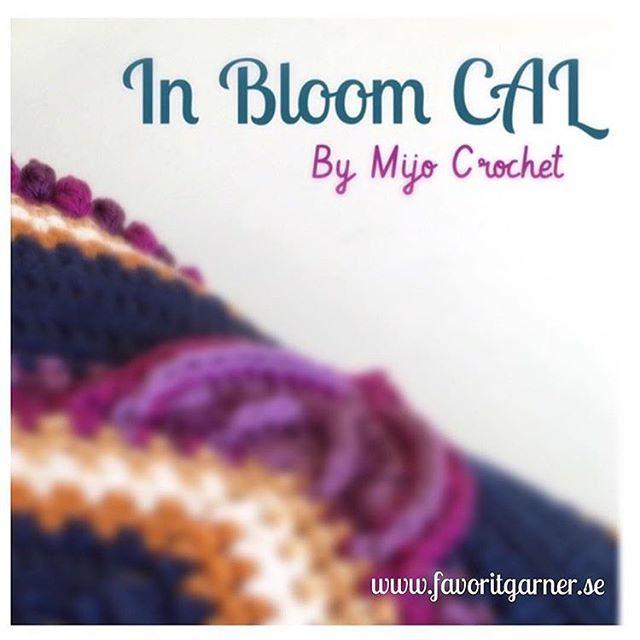 In Bloom CAL starts on saturday 7/1  See all dates and what you need to join on my blog (link in profile)  . In Bloom CAL startar på lördag 7/1  Alla datum och vad du behöver för att hänga på finns på min blog (länk i min profil)  . #mijocrochet #inbloomcal #favoritgarner #scheepjes #crochetcal #mysterievirkning #cal #crochet #virka #scheepjescatona #crochetpillow #crochetcushion #virkadkudde