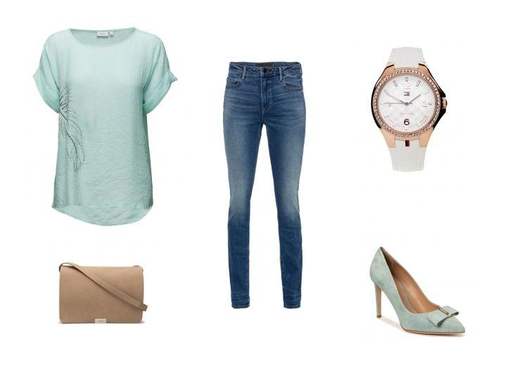 Mint & Jeans - die perfekte Kombi - Erstellt mit collageAd!