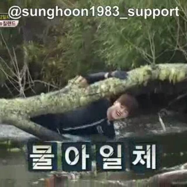 25 個讚,1 則留言 - Instagram 上的 Debbie Moh(@debbie_moh):「 #Repost @sunghoon1983_support ・・・ [ WORK HARD ] #SUNGHOON  #SBS  program <Jungle's Law Wild New… 」