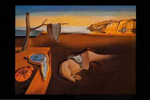 A fantastic poster of The Persistence of Memory - one of Salvador Dali's most famous Surrealist paintings! Fully licensed. Ships fast. 24x36 inches. Check out the rest of our excellent selection of Sa