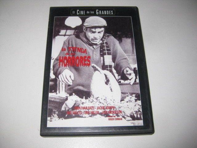 Pelicula En DVD  La Tienda De Los Horrores - Jonathan Haze