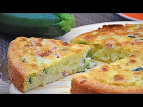 Torta 7 vasetti salata con zucchine e scamorza - Ricetta di Fidelity Cucina - YouTube