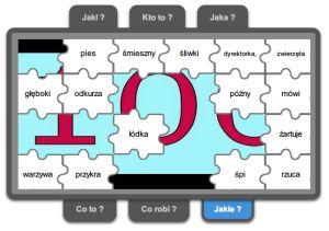 Strona zawiera gry edukacyjne. Linkowane z sieci Internetu oraz tworzone w Zondle i Learningaps. Poleca ciekawe strony i artykuły