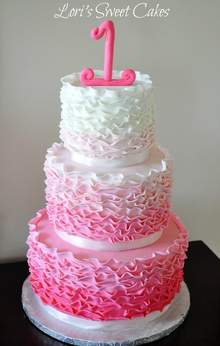 Gorgeous Little Girls Cake Cake Ideas Pinterest Girl Cakes Cakes And First