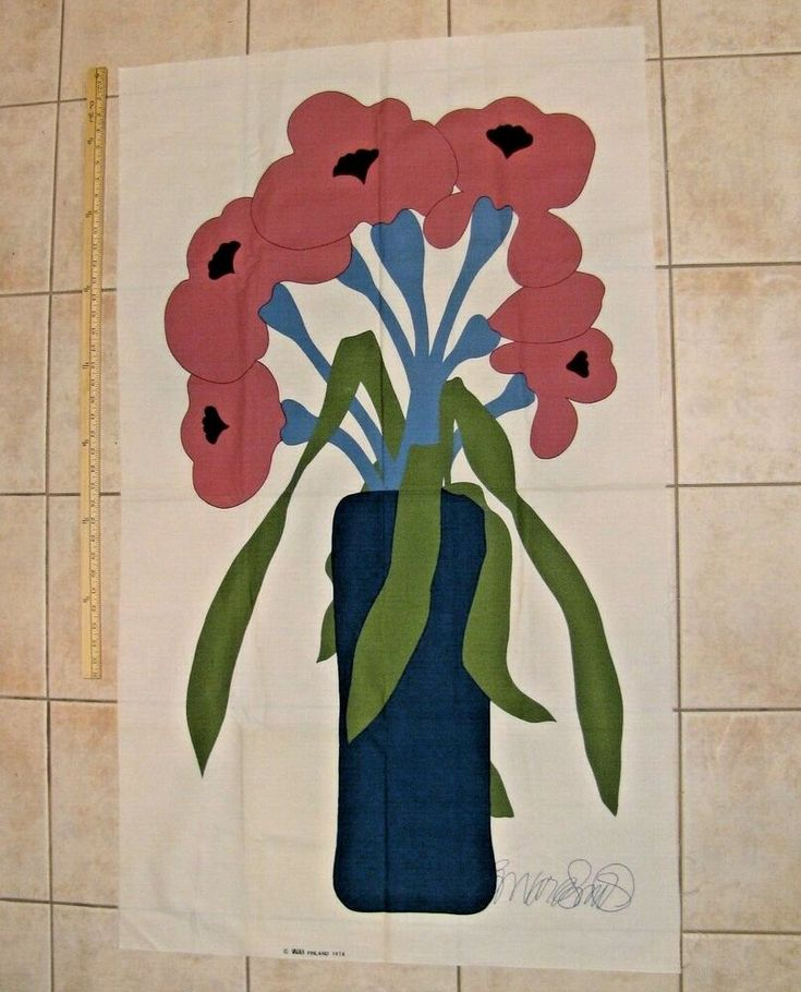 VALLILA FINLAND 1978 Fabric Print Panel Howard Smi…