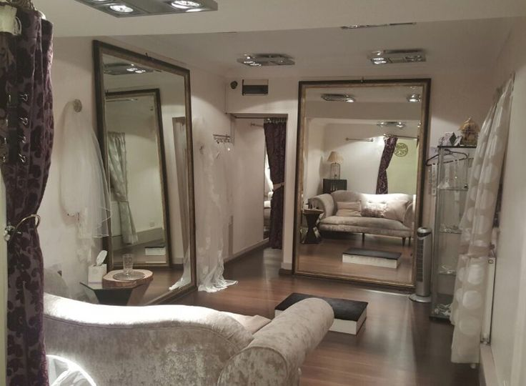Our main bridal fitting room