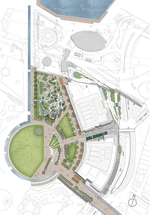Darling harbour masterplan image courtesy of aspect for Aspect landscape architects