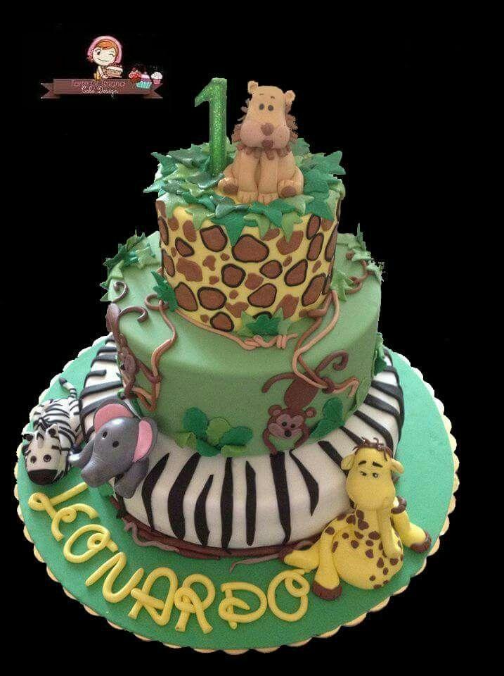 Cake giungla