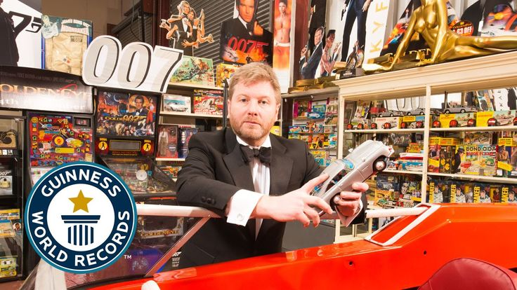Man Sets Guinness World Record for Largest Collection of James Bond Memorabilia With 12,463 Pieces
