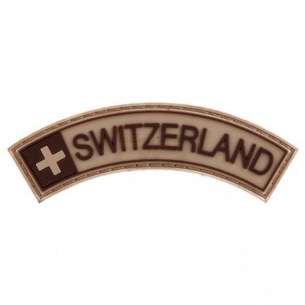Pitchfork Switzerland Tab Patch - Tan