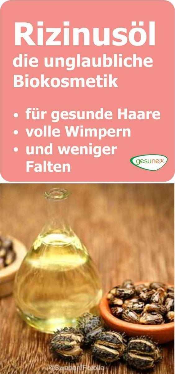 Rizinusöl – Biokosmetik für gesunde Haare, Wimpern und weniger Falten