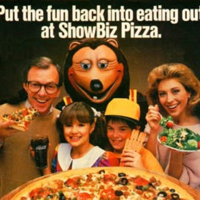 84 best showbiz images on Pinterest Pizza Chuck e cheese and