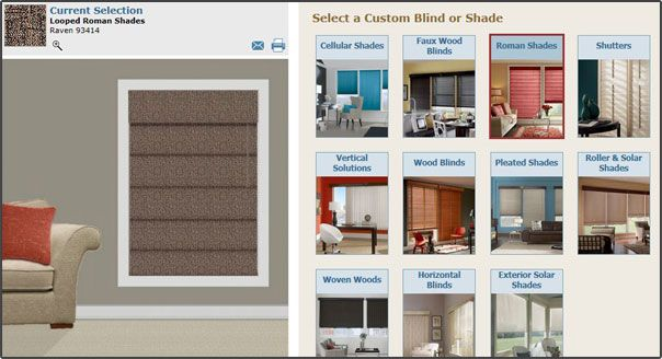 Budget Blinds Virtual Decorator Window Treatments