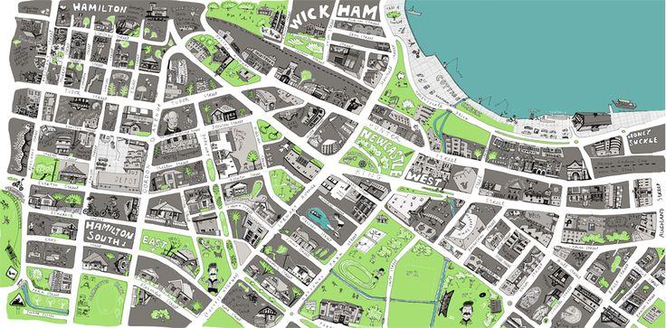 Liz Anelli Illustration |Maps