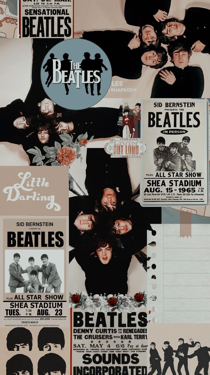 Pin By V On The Beatles Band Wallpapers Beatles Background