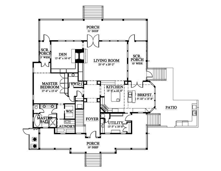 1135 migliori immagini house plans su pinterest piantine for Aggiunte garage per case in stile ranch