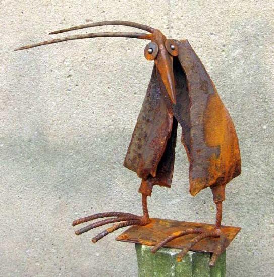 Skulpturen aus Schrott von Chris Kircher (http://chris-kircher.de)
