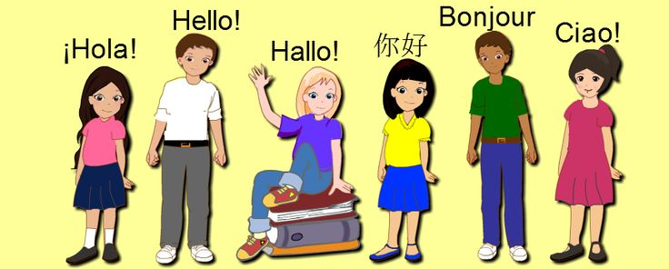 """Learn to say """"Hello"""" in different languages!"""