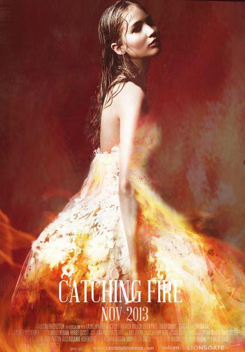 Katniss Dress on Fire - catching fire