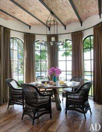Breakfast Room : Gisele Bündchen and Tom Brady's House in Los Angeles