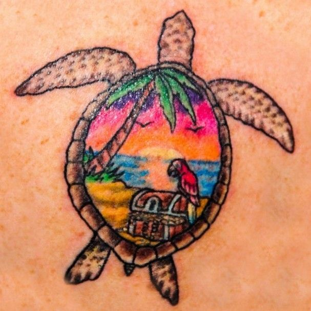 beach themed tatoos | Treasure Coast residents show off their tattoos : Treasure Coast Photo …