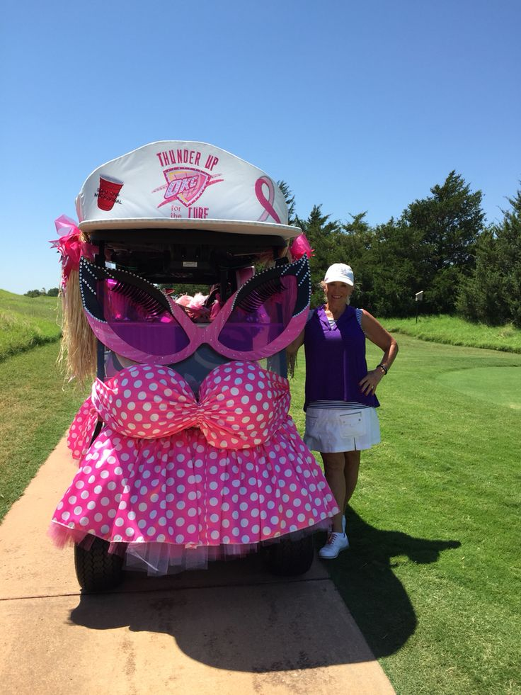 204 best golf carts decorated images on pinterest golf for Golf decoration ideas