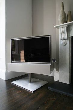 Rotating TV Cabinet - contemporary - Living Room - London - Couture Furniture