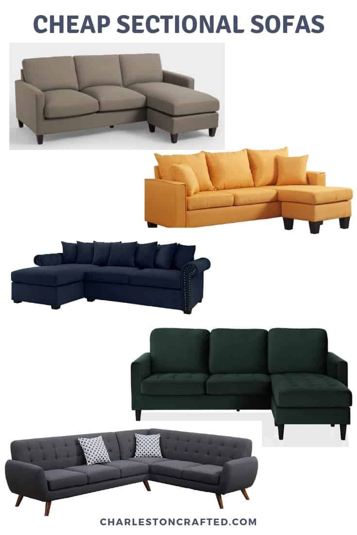 The Best Cheap Sectional Sofas On The Internet In 2020 Cheap Couch Cheap Sofas Cool Couches