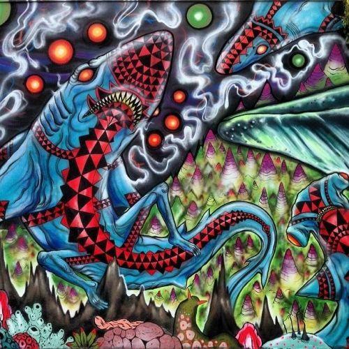 The Art of Skinner | Artwork | Pow Wow Hawaii mural
