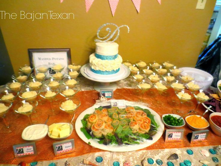 Don T Just Dollop Mashed Potatoes In The Gles Either I Used A 1m Beach Themed Weddingstropical Weddinato Barmashed