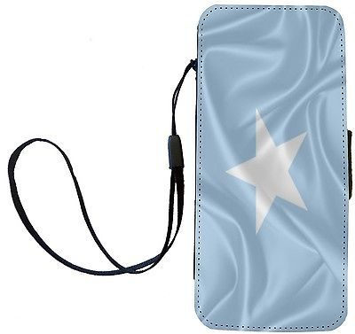 Rikki Knight Somalia Flag Flip Wallet iPhoneCase with Magnetic Flap for iPhon...