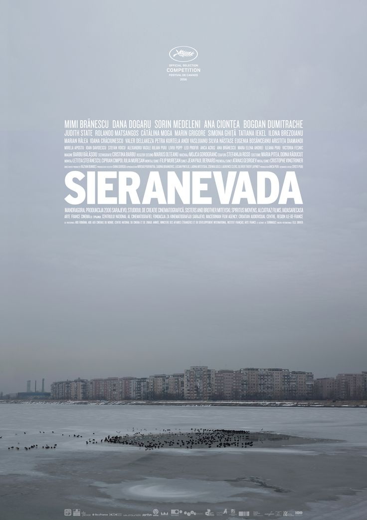 Sieranevada by Cristi Puiu #Cannes2016 In Competition. Poster.
